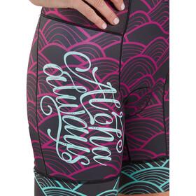 Zoot LTD Combinaison de triathlon manches courtes Aero Femme, aloha